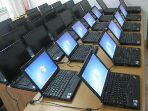 Laptop cũ có nhiều lựa chọn từ các hãng